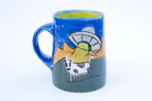 UFO Cow Mug