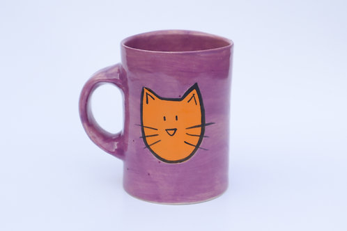 Cat and Yarn Mug