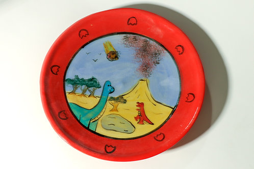 Dino Plate 8inch