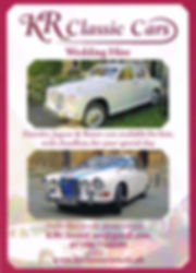 KR Classic Cars Wedding Hire