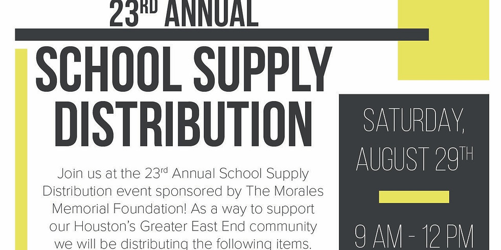 23a distribución anual de útiles escolares