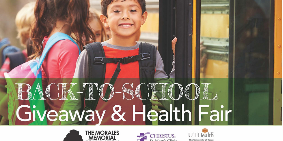 22nd Annual Back to School Giveaway & Health Fair