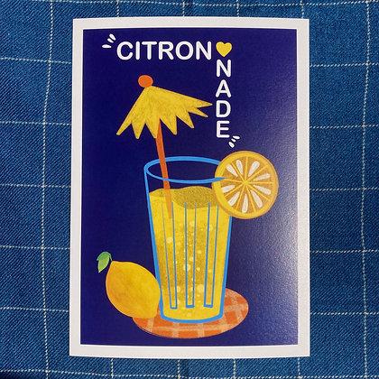 Citronnade - Affiche A4