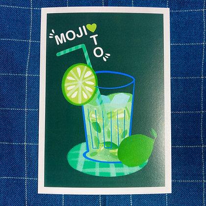 Mojito - Affiche A4