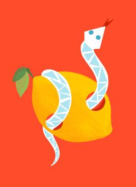 Serpent citron