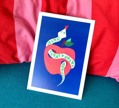 Serpent pomme
