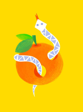 Serpent orange