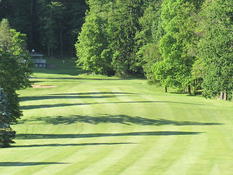Foxburg Country Club Hole 5 fairway