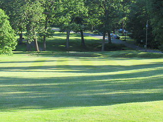 Foxburg Country Club Hole seven tee box
