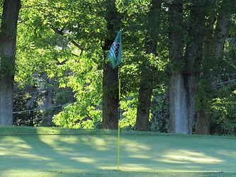 Foxburg Country Club hole six green