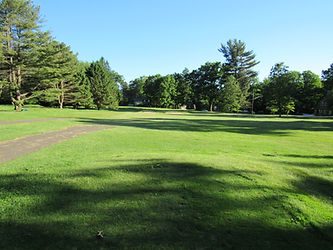 Foxburg Country Club hole eight tee box