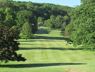 Foxburg Country Club Hole Three Tee Off
