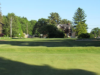 Foxburg Country Club Hole Two Green