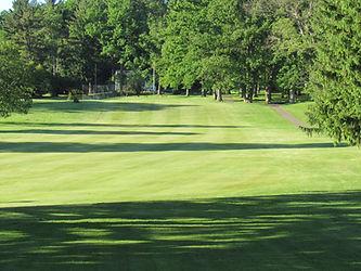 Foxburg Country Club Hole nine fairway