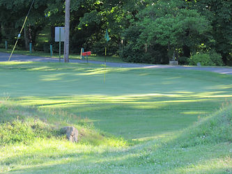 Foxburg Country Club hole seven green