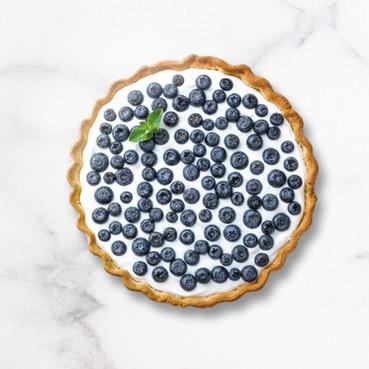 עוגת פירות יער -אסאי טבעונית (ללא גלוטן , ללא אפיה )