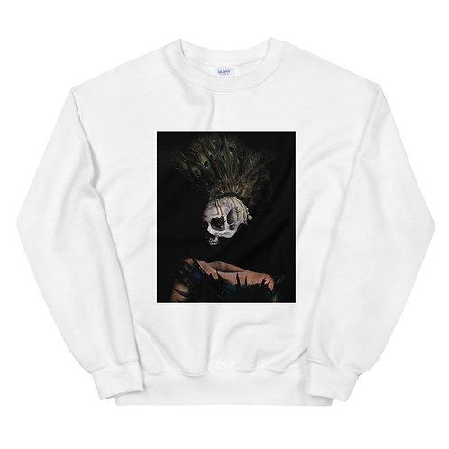 Peacock Skull Unisex Sweatshirt
