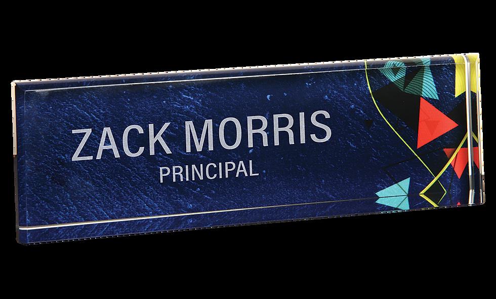 Acrylic Name Bar