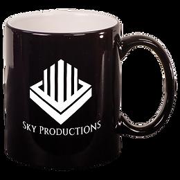 11 oz. Round Ceramic Mug