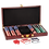 Thumbnail: Rosewood Finish Poker Gift Set with 100 Chips, 2 Decks of Cards & 5 Dice