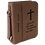 Thumbnail: Leatherette Book/Bible Cover with Handle & Zipper