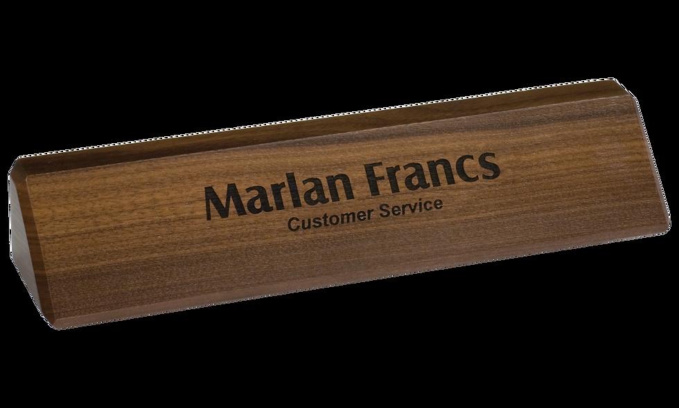 Genuine Walnut Desk Wedge