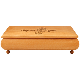 "10 1/2"" x 6 "" Red Alder Gift Box"