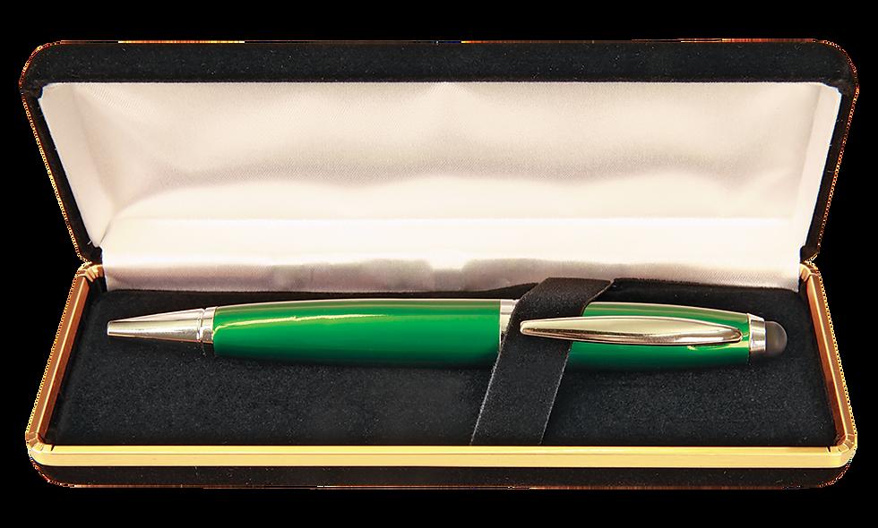 Black Velvet Lined Pen Case