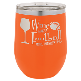12 oz. Polar Camel Stemless Wine Tumbler with Clear Lid