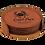 Thumbnail: Round Leatherette 6-Coaster Set