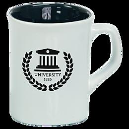 10 oz. Ceramic Rounded Corner Mug