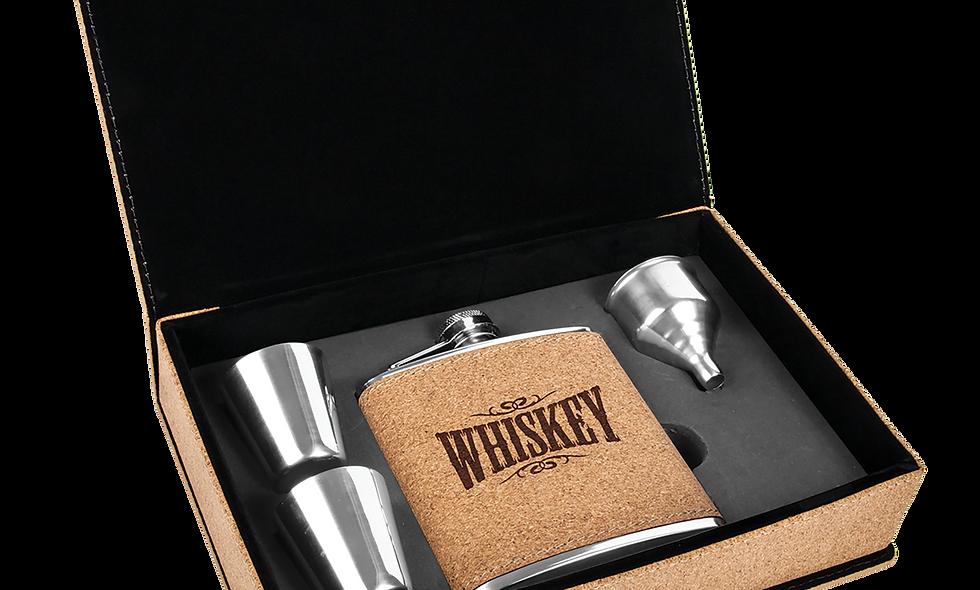 6 oz. Flask Gift Box Set