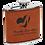 Thumbnail: 6 oz. Leatherette Flask