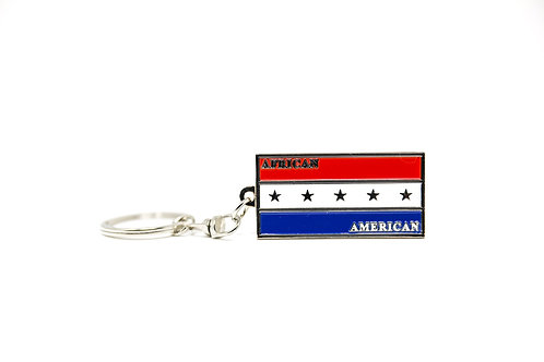 African American Pride Symbol Keychain