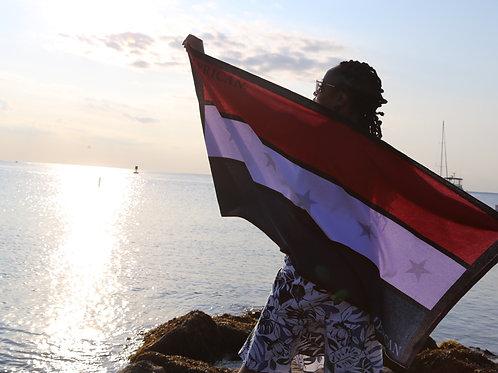 AFRICAN AMERICAN PRIDE BEACH TOWEL