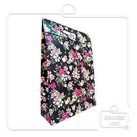 ENV AVENIDA M FLORAL FULL AZL PORT 37X26