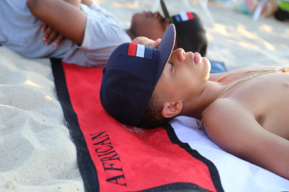 AFAM Brand Hat & Towel