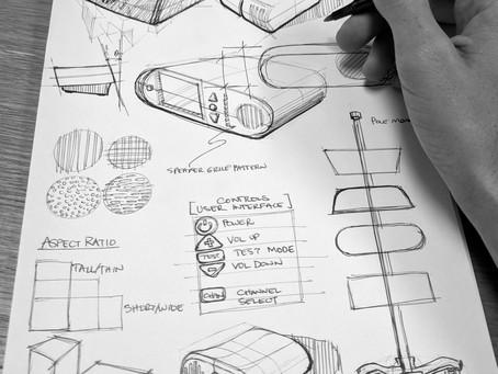 Napkin sketch brainstorming