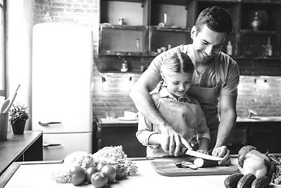 bigstock-Father-And-Daughter-Cooking-164