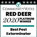 2020 Community Votes Red Deer Platinum W