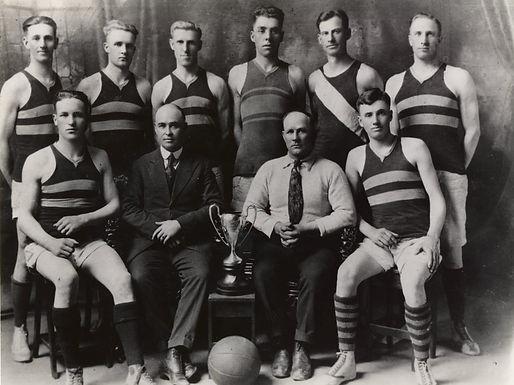 Raymond Union Jacks Basketball Team - 1923