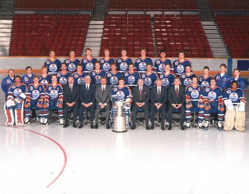 Edmonton Oilers Hockey Teams - 1983-85 1986-88 1990