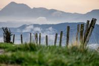 Belle vue sur les montagnes basques