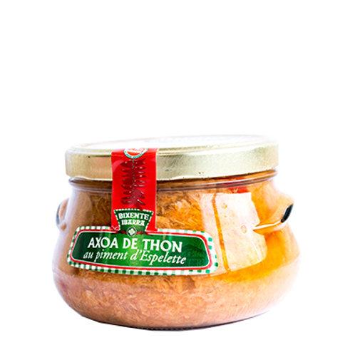 Axoa de thon blanc au piment d'Espelette