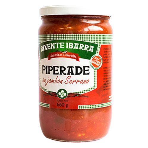 Piperade au jambon Serrano