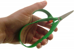 Easy Grip Sprung Scissors