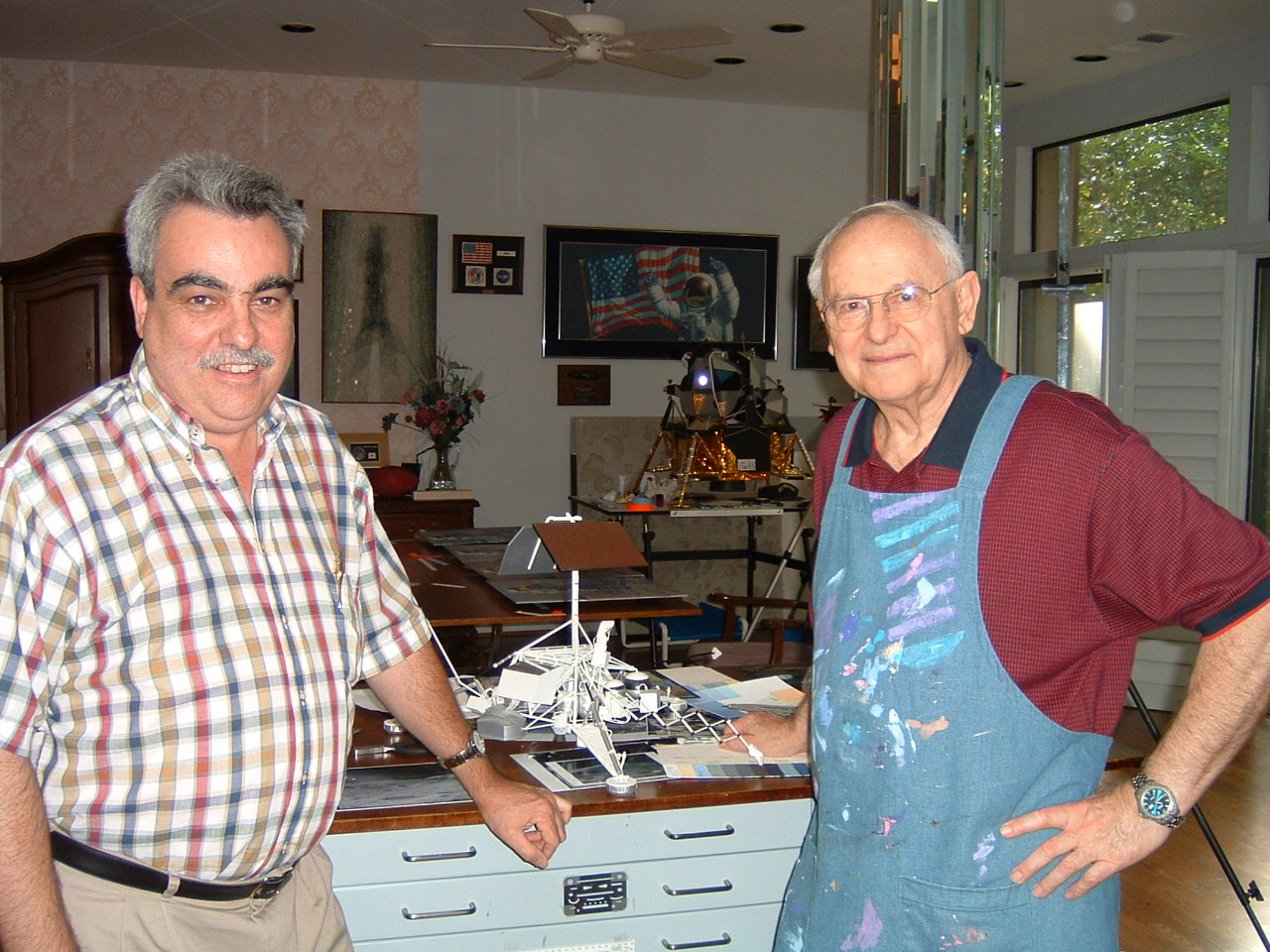 Nick Proach and Alan Bean