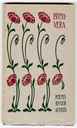 Primavera (1900) with cover design by Isadore B. Paine