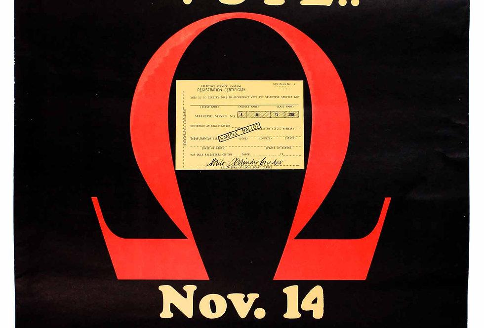 Cast Your Whole Vote. Nov. 14. The Resistance.
