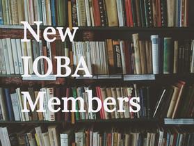 New IOBA Members: Second Quarter 2020